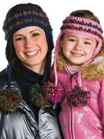 Stylishly Warm Hats Scarves Crochet Pattern Book Annies 871524 DISCONTINUED